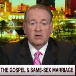 No, Mike Huckabee, Jesus Didn't Define Marriage.
