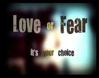 You Have Two Options: Love or Fear | Susan Cottrell