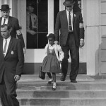 Ruby Bridges, 6, required three U.S. Marshals to escort her into elementary school in New Orleans, in 1960 - because of hate and threats of violence.