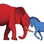 elephants and donkeys