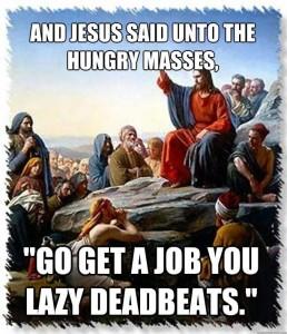 lazy jesus