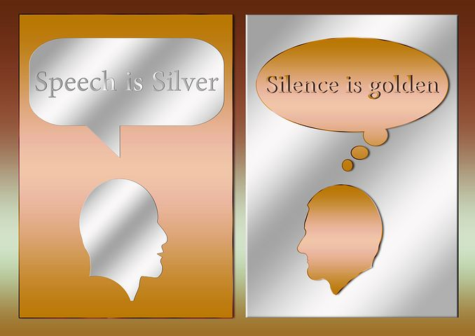 Speech is silver but silence is gold essay College paper Sample ...