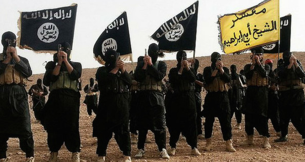 ISIL fighters - via WikiCommons