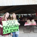 'Stop dividing our school,' say students to Wisconsin 'Jesus Lunch' crowd