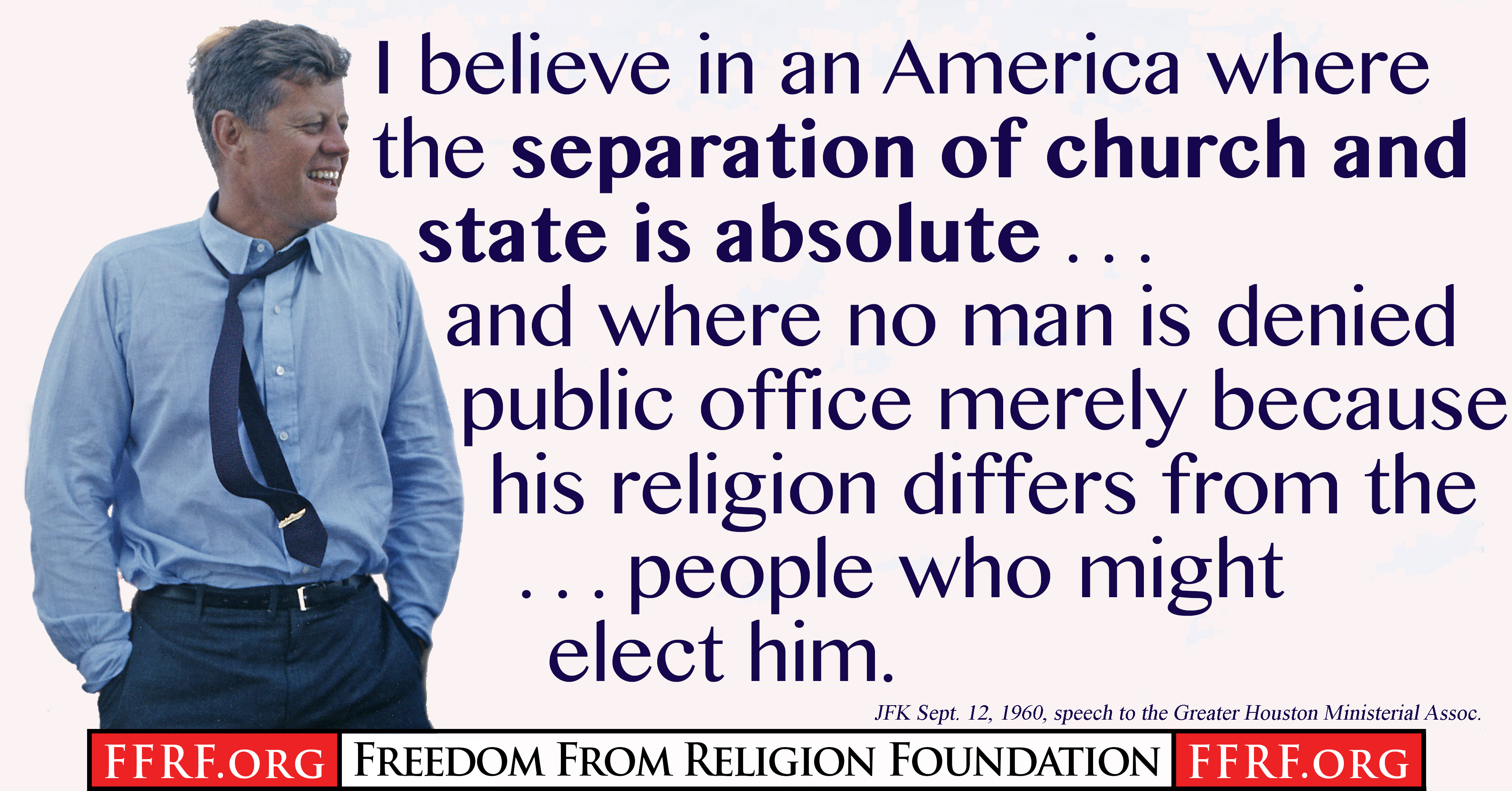 An analysis of separation of church and state