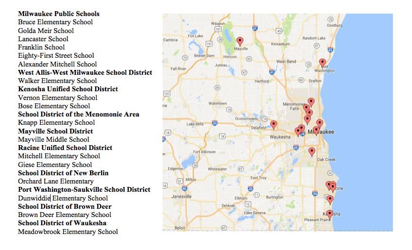 The schools GNC is targeting.
