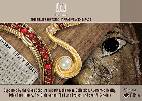 (RNS1-april14) The Book's curriculum cover photo courtesy of Museum of the Bible. For use with RNS-BIBLE-CURRICULUM, transmitted on April 15, 2014.