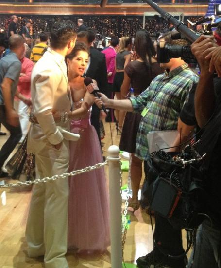 22 Behind the Scenes Photos of DWTS with Bristol Palin-9