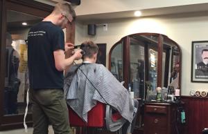 Barber Austin : Austin?s eyes got large. The hipster barber had long locks of hair ...