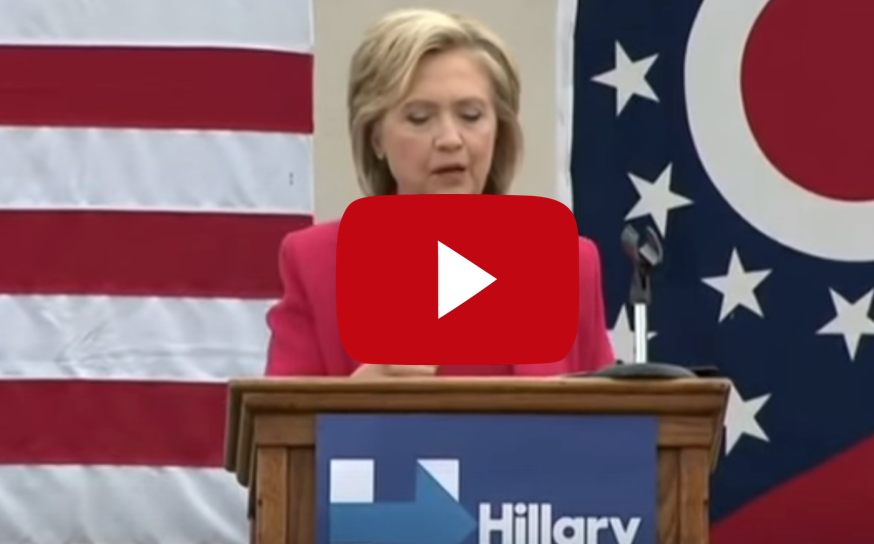 Hillary Clinton: Republicans Who Want to Defund Planned Parenthood Are Like 'Terrorist Groups'