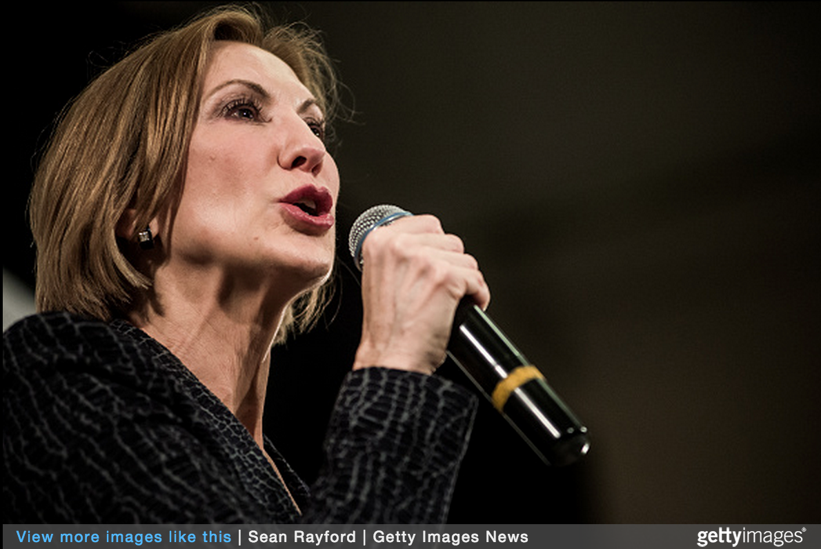 Carly Fiorina Terrifies Feminists - Here's Why