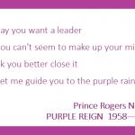 Day 2:  Prince Still Dead