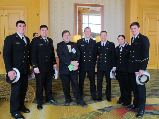 Naval Academy Freethinkers and Atheists with PZ Meyers
