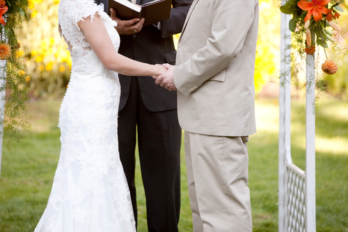 Before They Stepped In The Only Way An Atheist Could Officiate Was To Direct Marrying Couple Someone Else Solemnize Wedding Immediately