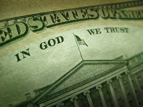 "Getting ""In God We Trust"" Off of the Money: An Update"