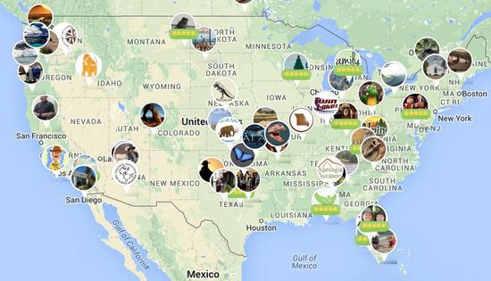 Heres A Map Of Every Creationist Museum In The United States - Atheist map of the us