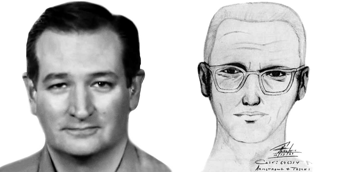 Man Sells Ted Cruz Is The Zodiac Killer Shirts To Fund