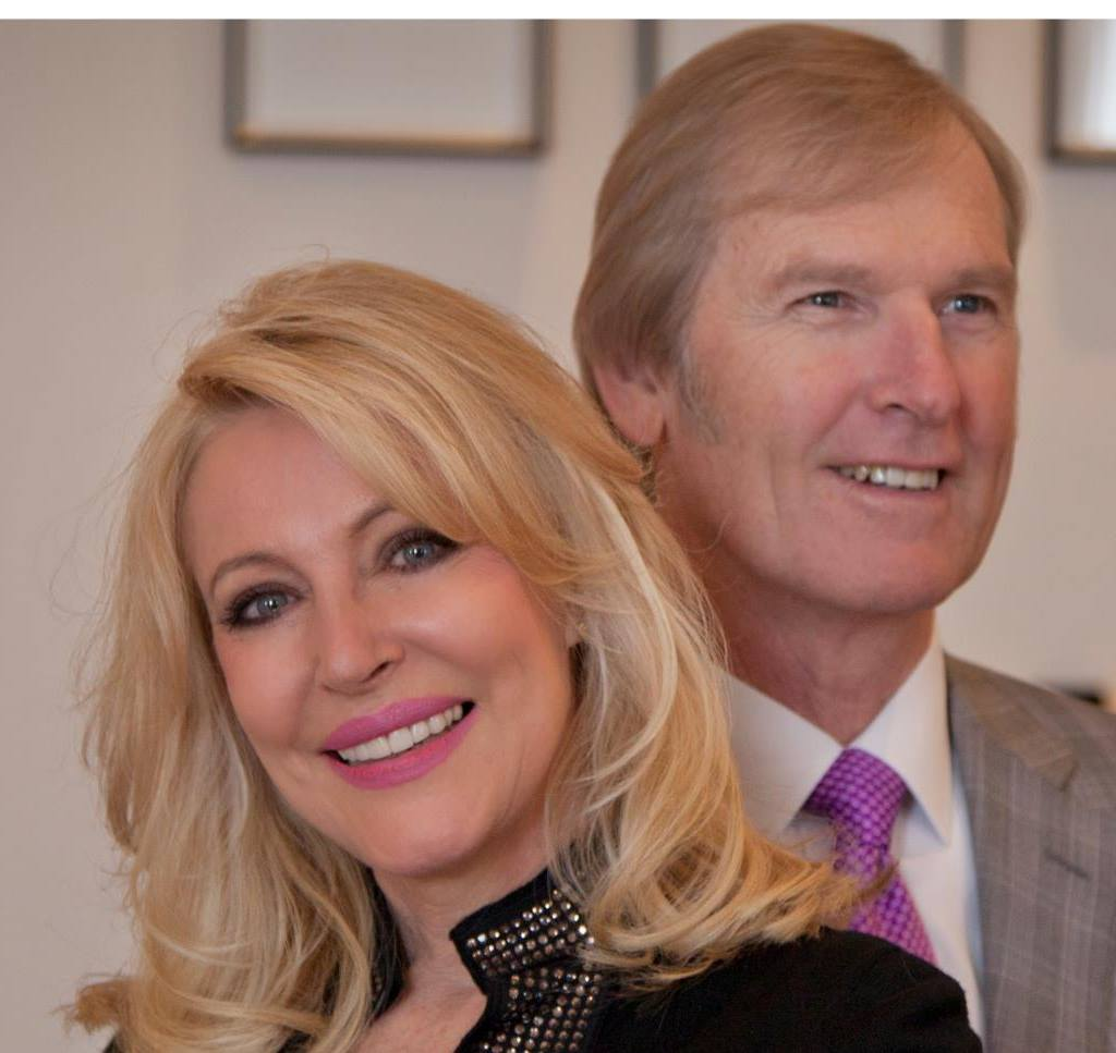 Theo Wolmarans and his wife Beverley