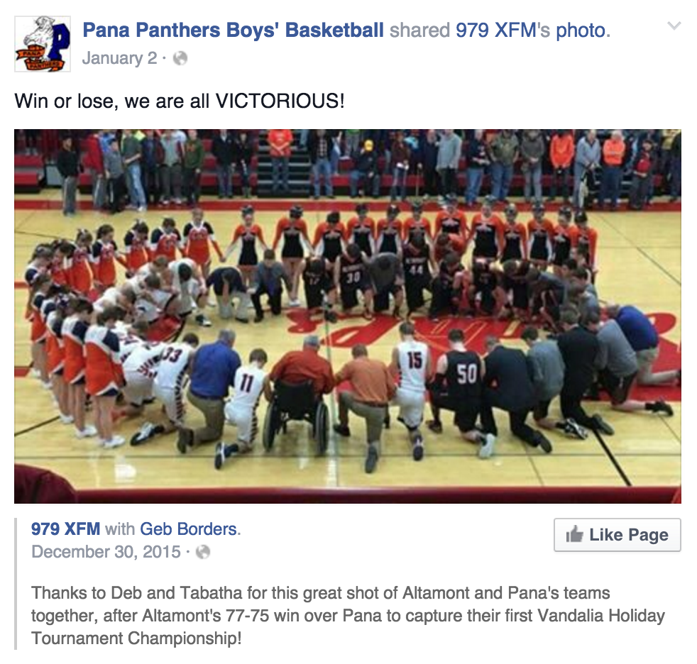 FFRF Reminds Illinois High Schools That Coaches May Not Pray with Students