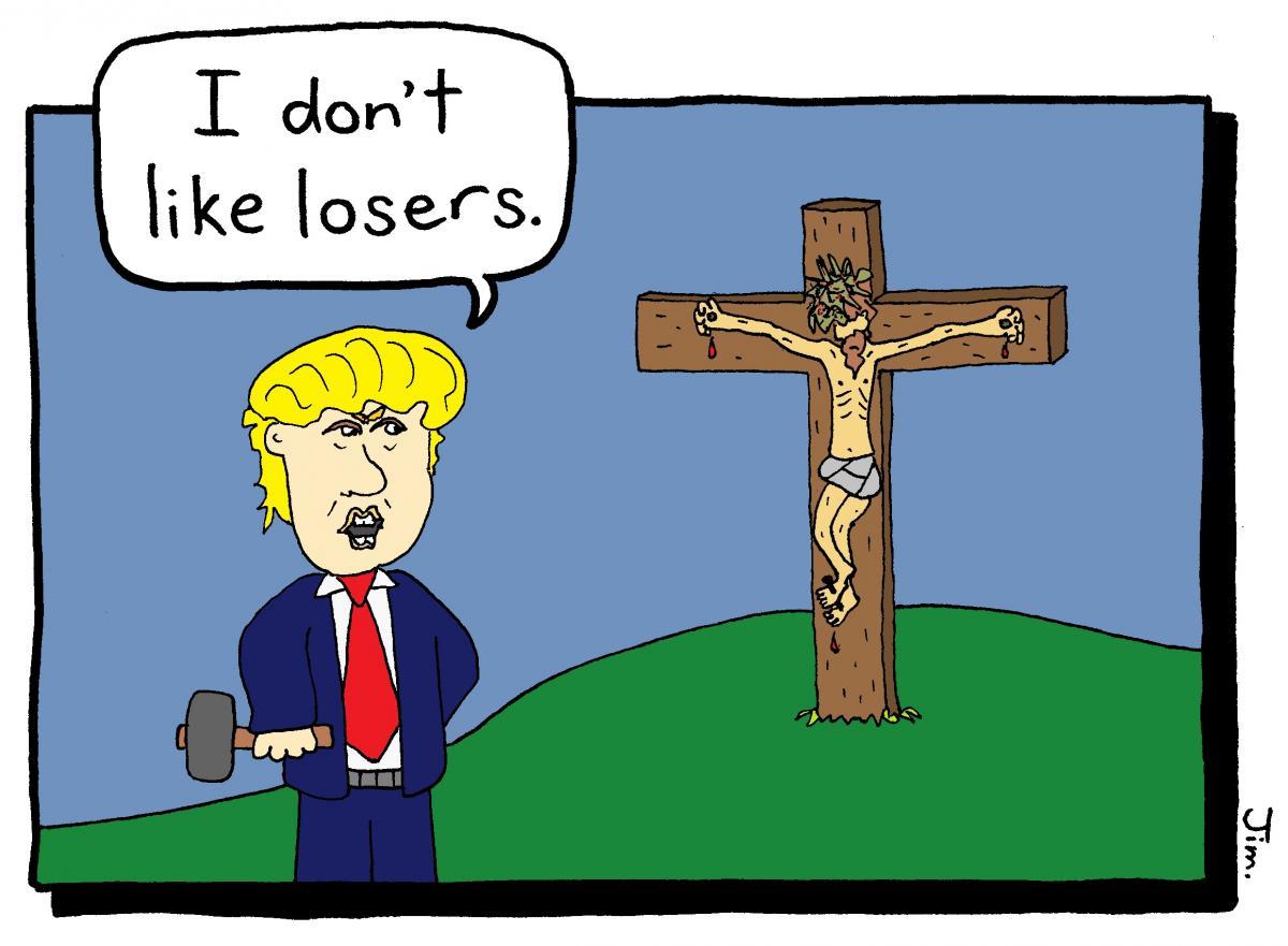 LoserJesusTrump