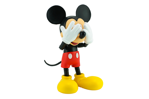 Even Mickey can't stand to see what's happening in Georgia.