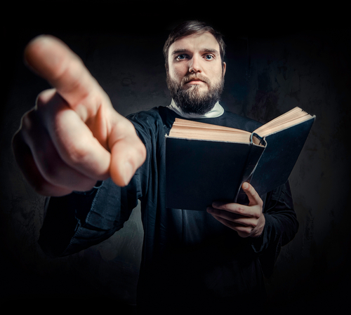 Oz Priest Compares Pedophilia to Adultery, Upbraids Anti-Child-Abuse Critics For Insufficient Mercy Shutterstock_125255867