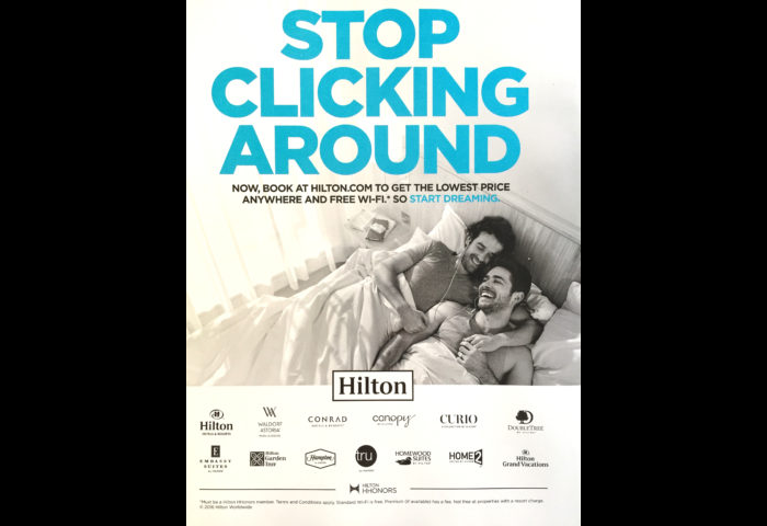 Christian Group Furious That Hilton Hotel Advertisement Features ...