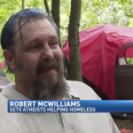 Atheist Group Is Helping a Homeless Camp in Southeast Texas
