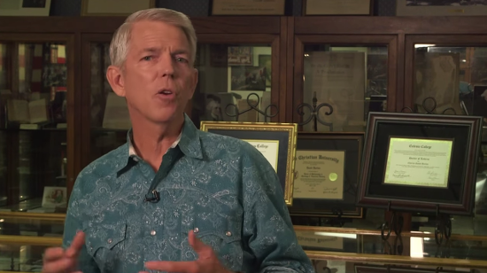 "Christian Pseudo-Historian David Barton (Who Only Has a Bachelor's Degree): ""I've Got a Ph.D."""