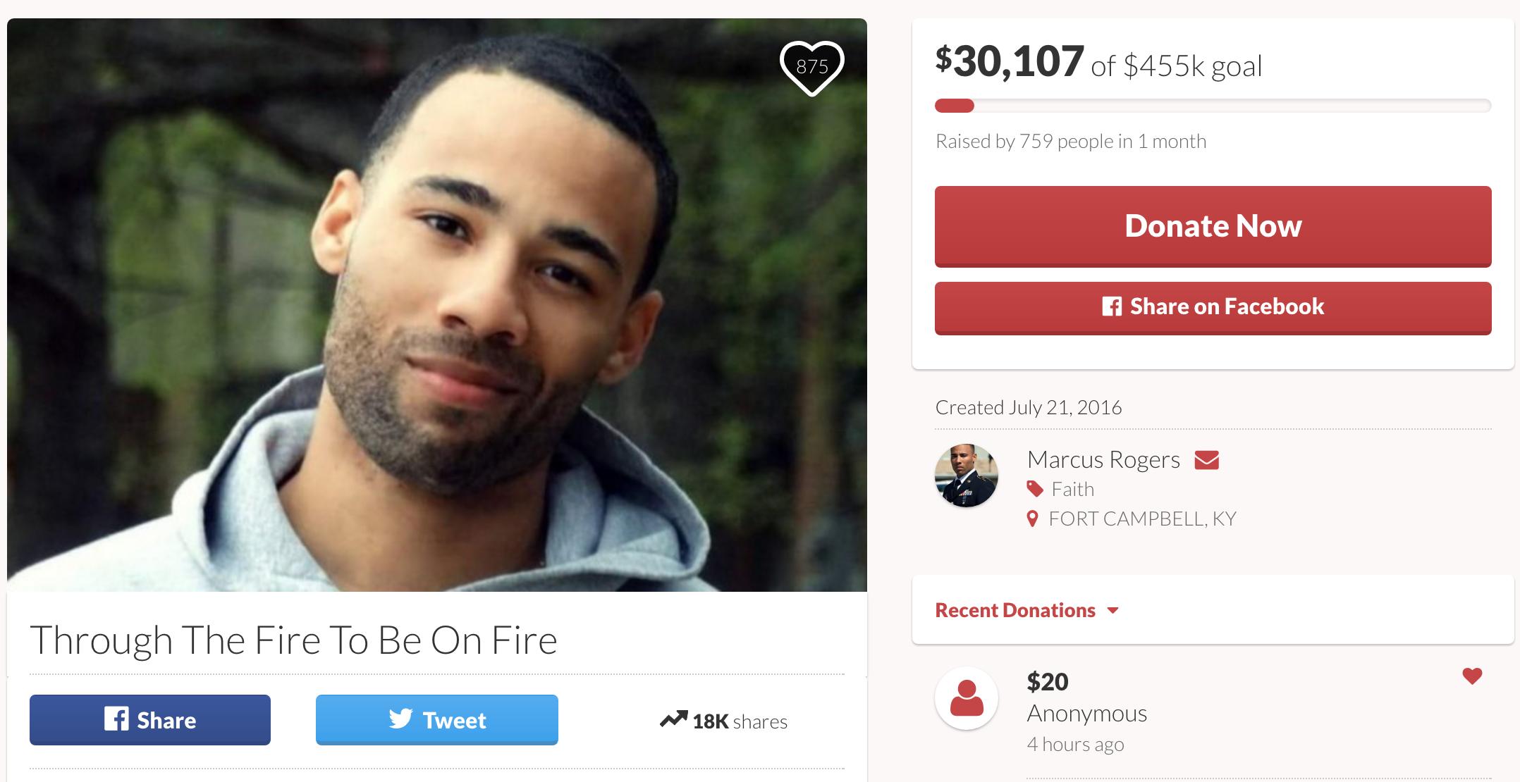 christian preacher who tried raising  455 000  for no reason  will end fundraiser  30 000 richer
