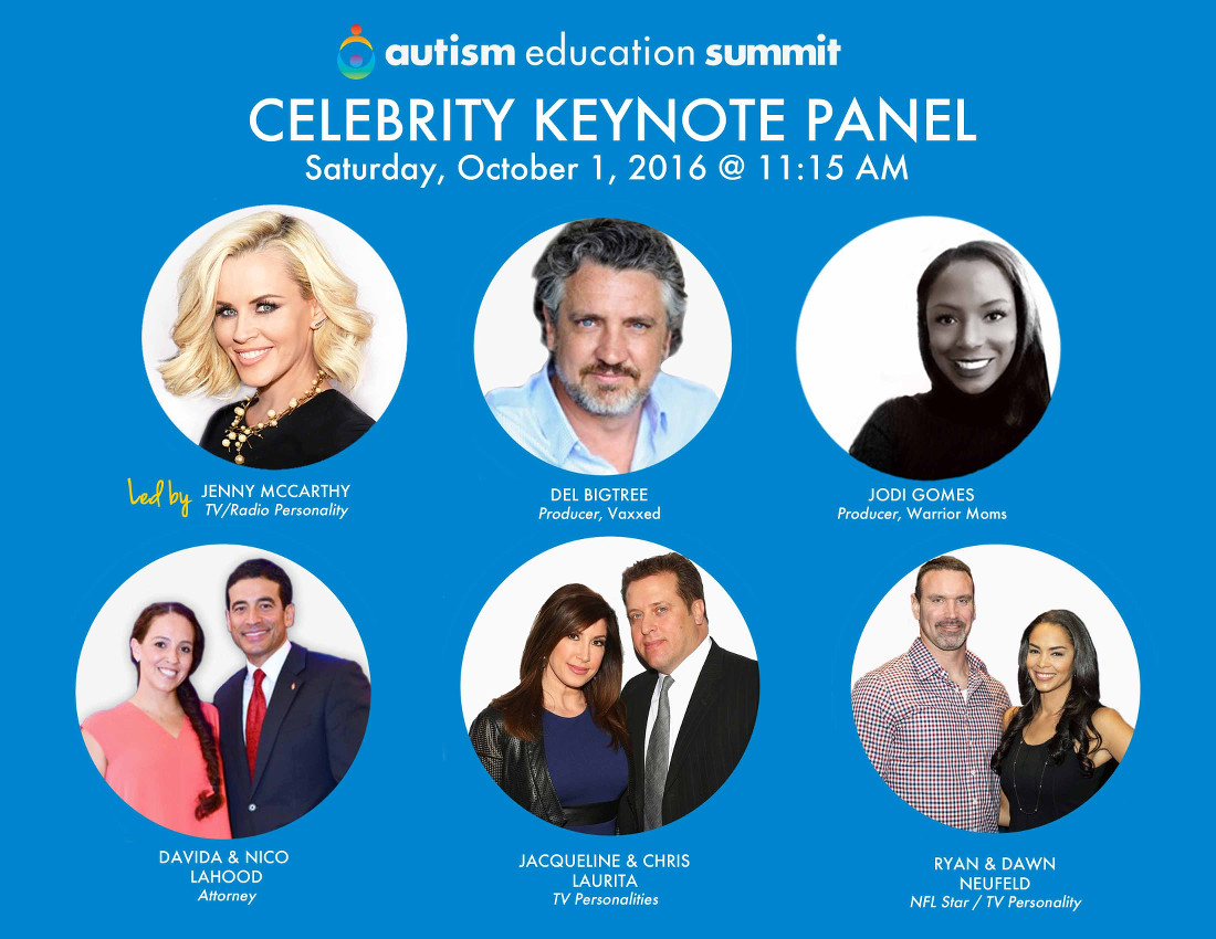 "Jenny McCarthy is Leading an ""Autism Education Summit"" This Weekend With Many Other Anti-Vaxxers"