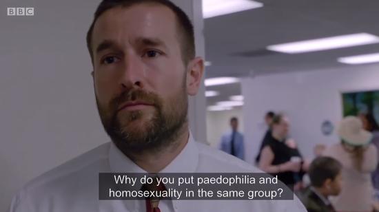 Homosexuality documentary bbc