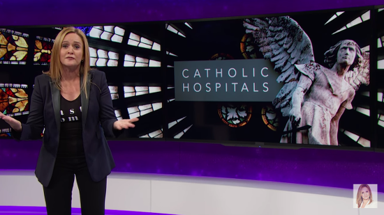 Samantha Bee Condemns Catholic Hospitals for Putting Religious Dogma Above Patient Care