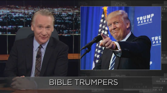 In Final Rant Before Election, Bill Maher Celebrates the Trump-Fueled Fall of the Religious Right