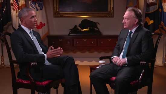 Days Before Election, President Obama Discusses Atheism in Interview with Bill Maher