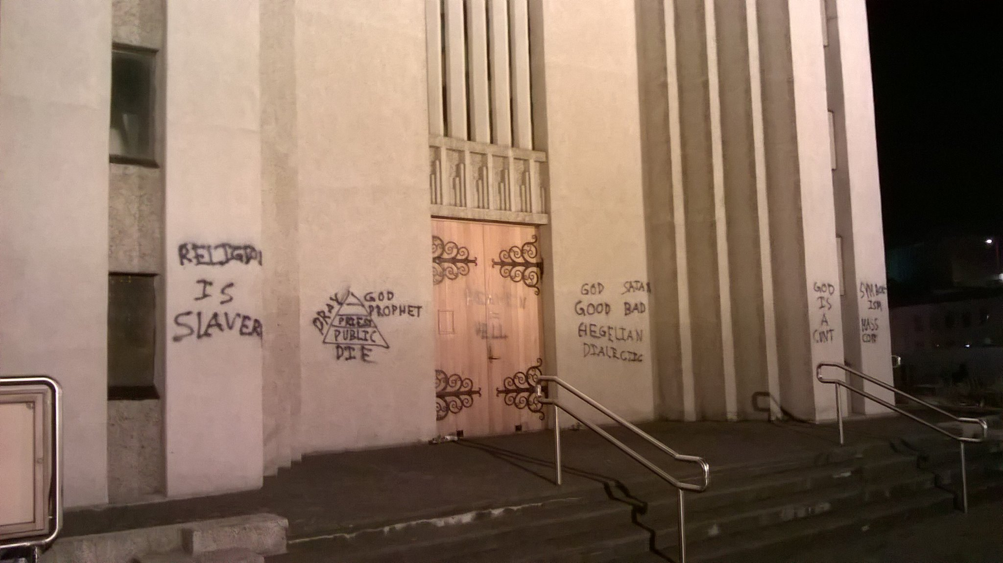 Man Who Vandalized Multiple Icelandic Churches Has Been Caught and Released