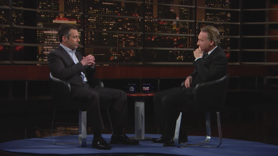 """Bill Maher and Sam Harris Discuss Islam (Without Ben Affleck Around to Call Them """"Racist"""")"""