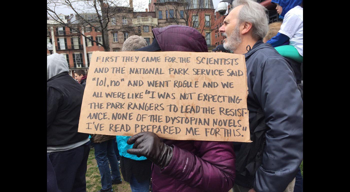 DystopianScienceMarch