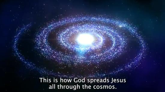 JesusSpreadingCosmos