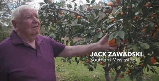 Jack Zawadski mourns his loss in a Lambda Legal video.