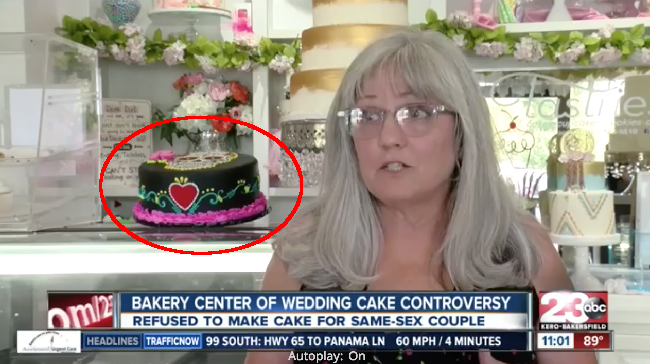 Christians Not Makeing Wedding Cakes For Gay Couples