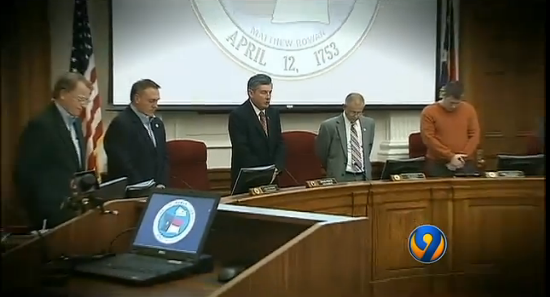 Entire Appeals Court Will Rehear Case Involving NC County Leaders Who Pray to Jesus at Meetings