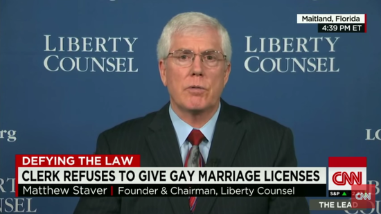"""Mat Staver: Marriage Equality Is a """"Lie From the Pit of Hell"""""""
