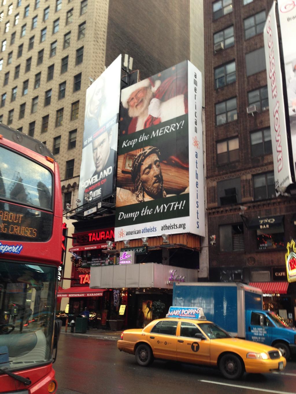 "Atheist Billboards In Religious Cities Say: ""Dear Santa"
