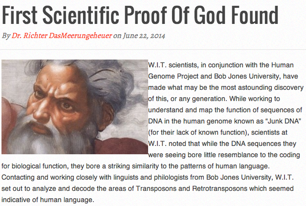 proving god exist Department of philosophy rivendell institute at yale university you cannot prove god's existence ever since immanuel kant wrote his critique of pure reason, it.
