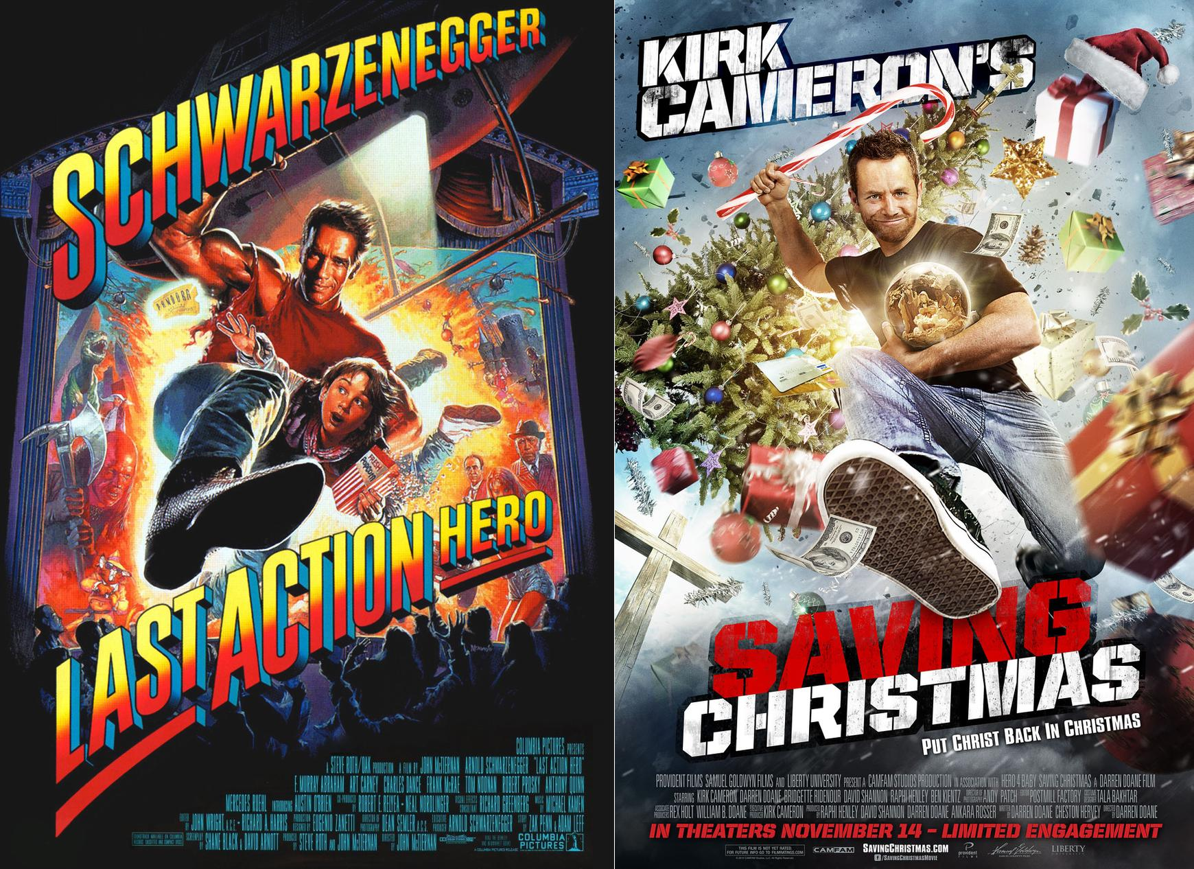Kirk Cameron\'s Movie Poster for <em>Saving Christmas</em> Looks ...