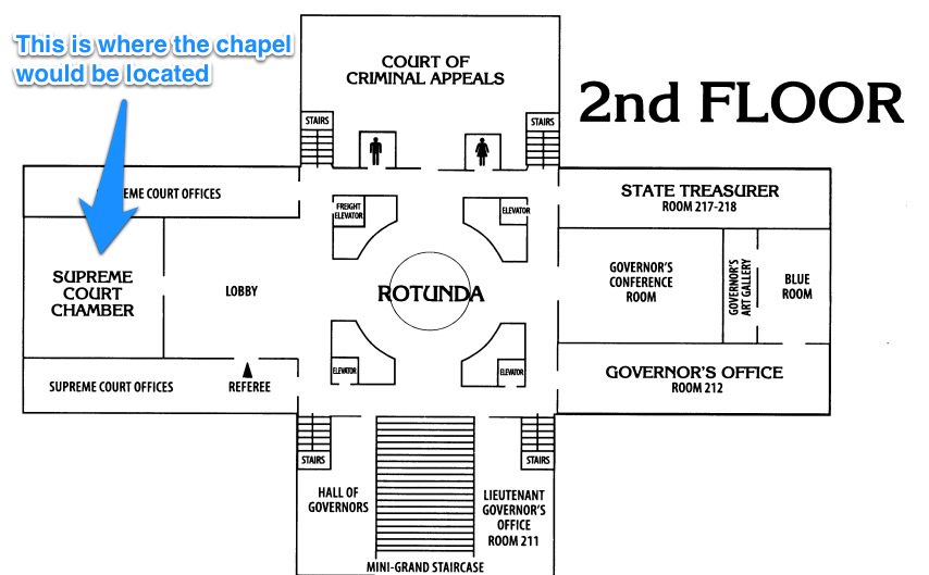 Oklahoma house speaker adds a chapel to the blueprints of the soon oklahoma house speaker adds a chapel to the blueprints of the soon to be renovated state capitol building malvernweather Image collections