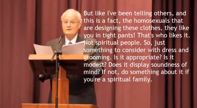 Jehovahs Witnesses Formalize Tight Pants Rule No Preaching Unless You Conform To Gender Norms