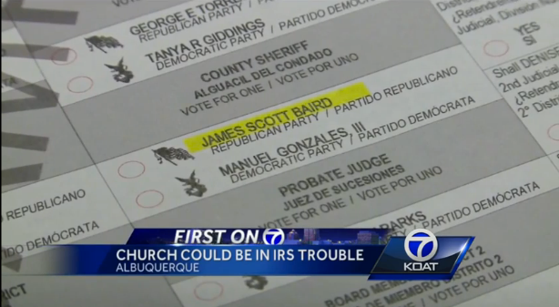 Forget Endorsing a Candidate; This Albuquerque Church Gave ...