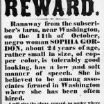 Runaway reward poster